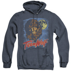 Image for Teen Wolf Heather Hoodie - Wolf Moon
