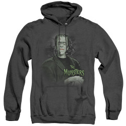 Image for The Munsters Heather Hoodie - Man of the House