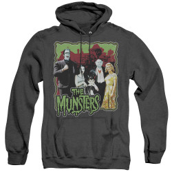Image for The Munsters Heather Hoodie - Normal Family