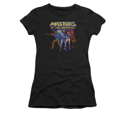 Image for Masters of the Universe Girls T-Shirt - Team of Villains