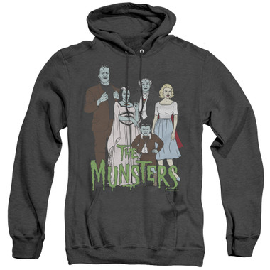 Image for The Munsters Heather Hoodie - The Family