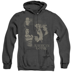 Image for The Munsters Heather Hoodie - American Gothic