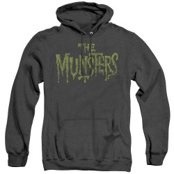Image for The Munsters Heather Hoodie - Distress Logo