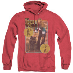 Image for Bionic Woman Heather Hoodie - Jamie & Max