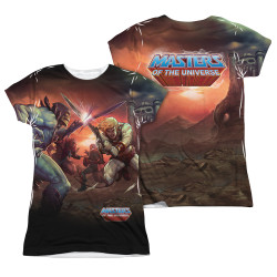 Image Closeup for Masters of the Universe Girls Sublimated T-Shirt - Battle