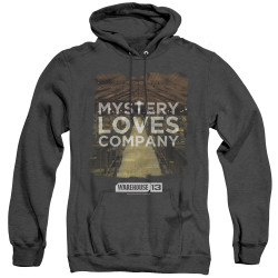 Image for Warehouse 13 Heather Hoodie - Mystery Loves