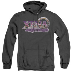 Image for Xena Warrior Princess Heather Hoodie - Logo