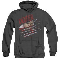 Image for Dexter Heather Hoodie - Never Lies