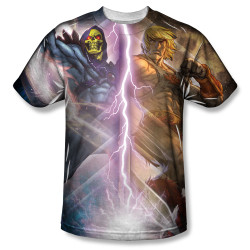 Image for Masters of the Universe Sublimated T-Shirt - Strike 100% Polyester