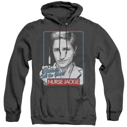 Image for Nurse Jackie Heather Hoodie - Nurses Call the Shots