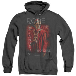 Image for The Borgias Heather Hoodie - Pope Alexander VI
