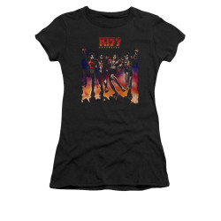 Image for Kiss Girls T-Shirt - Destroyer Cover