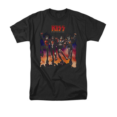 Image for Kiss T-Shirt - Destroyer Cover
