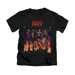 Image for Kiss Kids T-Shirt - Destroyer Cover