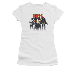Image for Kiss Girls T-Shirt - Throwback Pose