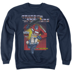 Image for Transformers Crewneck - Optimus Prime