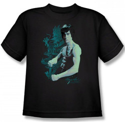 Image for Bruce Lee Youth T-Shirt - Feel!