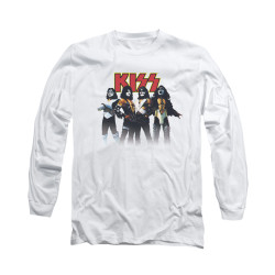 Image for Kiss Long Sleeve T-Shirt - Throwback Pose