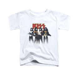 Image for Kiss Toddler T-Shirt - Throwback Pose