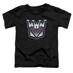 Image for Transformers Toddler T-Shirt - Decepticon Airbrush Logo