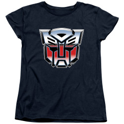 Image for Transformers Woman's T-Shirt - Autobrush Airbrush Logo