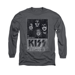 Image for Kiss Long Sleeve T-Shirt - Live