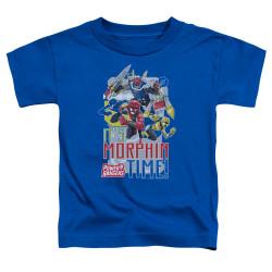 Image for Power Rangers Toddler T-Shirt - Beast Morphers Morphin Time