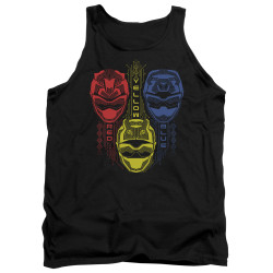 Image for Power Rangers Tank Top - Beast Morphers Red Yellow Blue