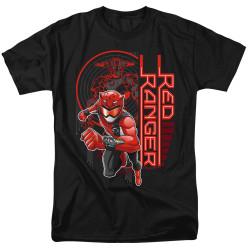 Image for Power Rangers T-Shirt - Beast Morphers Red Ranger