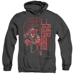 Image for Power Rangers Heather Hoodie - Beast Morphers Red Ranger