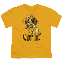Image for Power Rangers Youth T-Shirt - Beast Morphers Yellow Ranger