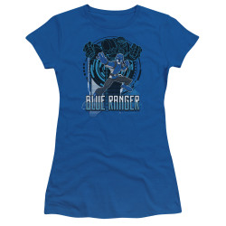 Image for Power Rangers Girls T-Shirt - Beast Morphers Blue Ranger