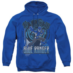 Image for Power Rangers Hoodie - Beast Morphers Blue Ranger