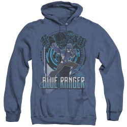 Image for Power Rangers Heather Hoodie - Beast Morphers Blue Ranger
