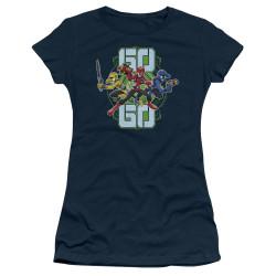 Image for Power Rangers Girls T-Shirt - Beast Morphers Go Go