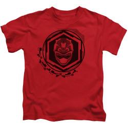 Image for Power Rangers Kids T-Shirt - Beast Morphers Red Ranger Icon