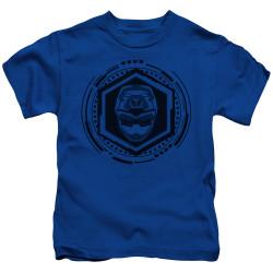 Image for Power Rangers Kids T-Shirt - Beast Morphers Blue Ranger Icon