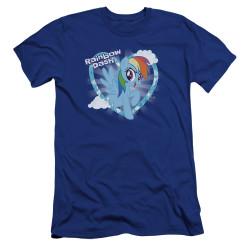 Image for My Little Pony Premium Canvas Premium Shirt - Friendship is Magic Rainbow Dash