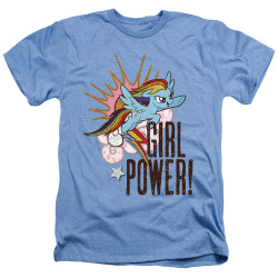 Image for My Little Pony Heather T-Shirt - Friendship is Magic Girl Power