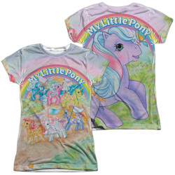 Image for My Little Pony Girls Sublimated T-Shirt - Classic Ponies