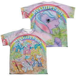 Image for My Little Pony Youth Sublimated T-Shirt - Classic Ponies
