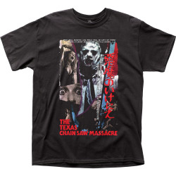 Image for Texas Chainsaw Massacre T-Shirt - Japanese VHS