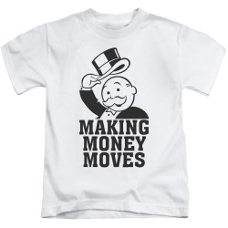 Image for Monopoly Kids T-Shirt - Money Moves