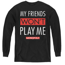 Image for Monopoly Youth Long Sleeve T-Shirt - My Friends