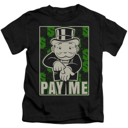 Image for Monopoly Kids T-Shirt - Pay Me