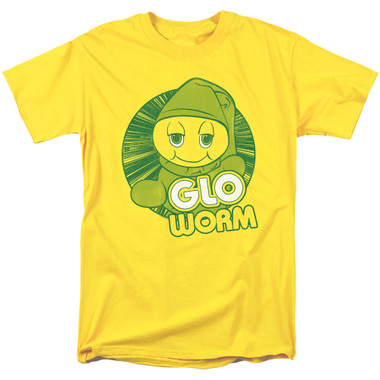 Image for Glo Worm T-Shirt - Go Glo