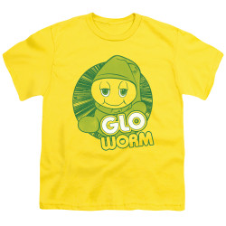 Image for Glo Worm Youth T-Shirt - Go Glo