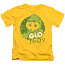 Image for Glo Worm Kids T-Shirt - Go Glo