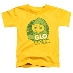Image for Glo Worm Toddler T-Shirt - Go Glo