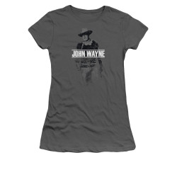 Image for John Wayne Girls T-Shirt - Fade Off